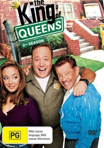 1 of 1 - The King of Queens : Season 2 (DVD, 2007, 4-Disc Set)