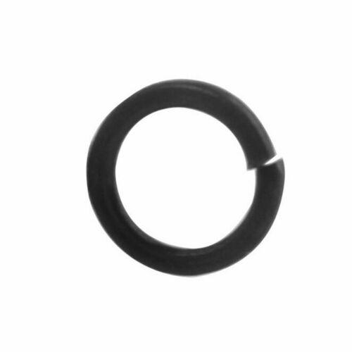 10//30//50pcs M3~M12  Black 8.8 Class Flat Spring Split Lock Washers For Screw