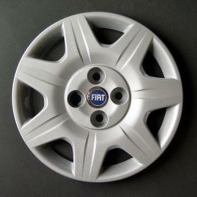 Jeu de 4 Enjoliveurs Neuf pour Fiat Punto 2 1999 avec Roues Originales en 14 Pouces