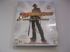 Indiana Jones and the Infernal Machine Factory Sealed PC Game CD-ROM Lucas Arts