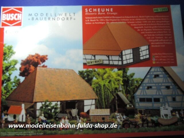H0 Bausatz Scheune - Lasercut von Busch