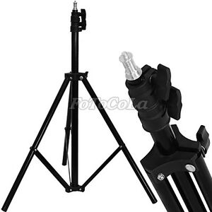 "Flexible Light stand for Photo Studio Lighting Softbox Photography 1.95M 6'4"""