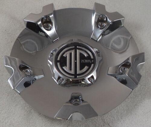 2 Crave Wheels Chrome Custom Wheel Center Cap Caps # CAP-N018 New on Shelf!!