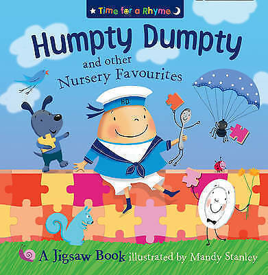 Stanley, Mandy, Humpty Dumpty and Other Nursery Rhymes: Jigsaw Book (Time for a