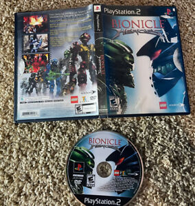 Bionicle Heroes (Sony PlayStation 2, 2006) PS2 Tested