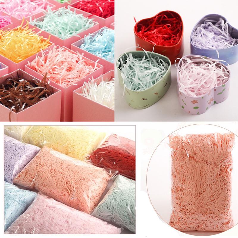 20 Grams of SHINY SILVER Luxury Hamper Shred Gift Packaging Extra Soft Shredded Tissue Paper