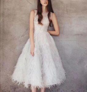 789758cc319 Image is loading Wedding-Prom-Dresses-UK-Size-8-UK-Stock