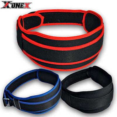 Black Onex Weightlifting belt Fitness Strength Exercise Neoperine Gym Training Brace