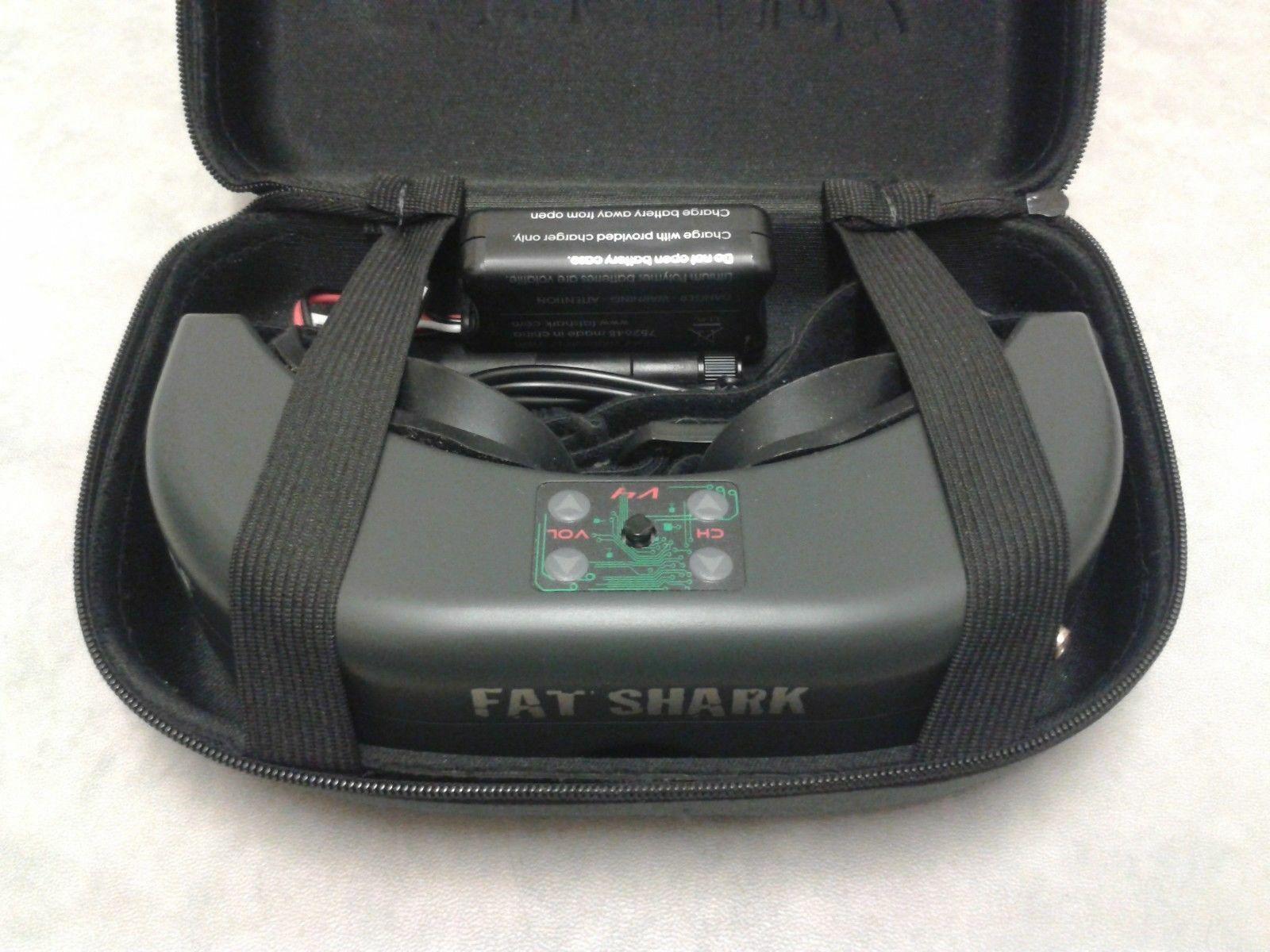 FatShark Teleporter Horizon Hobby V4 Fpv Gafas 5.8GHz RC Cuadricóptero Drone