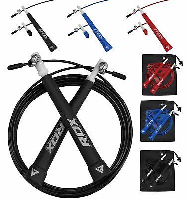 Rdx Velocità Cavo Saltando Una Corda Per Saltare Boxe Mma Fitness Palestra Running C9- Sapore Fragrante (In)