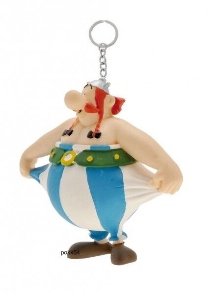 Astérix key ring Obelix holding his trousers 8 cm keychain figurine 603889