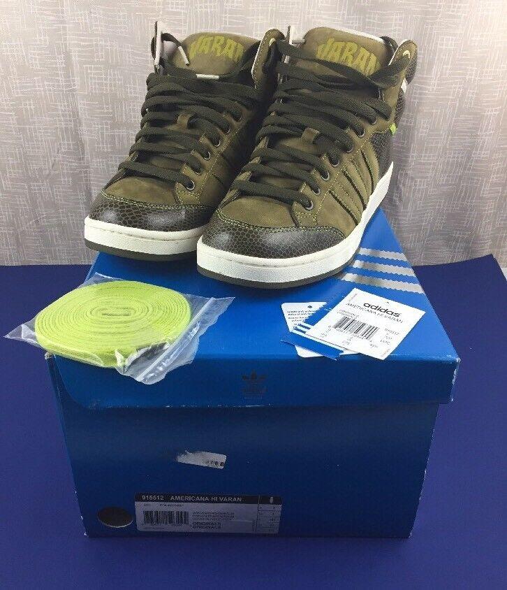 Adidas dimensioni consorzio americana - varan oliva noi dimensioni Adidas 9.5 w / tag lacci cassa rara 2969ce