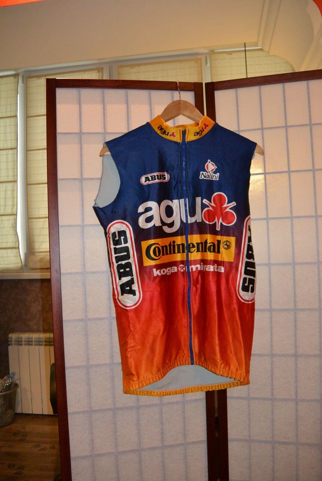 Agu Miyata Continental Koga Miyata Agu Nalini Abus sleeveless cycling jersey 82c20b
