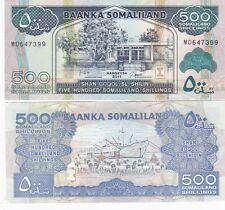Somaliland banconota 500 shillings