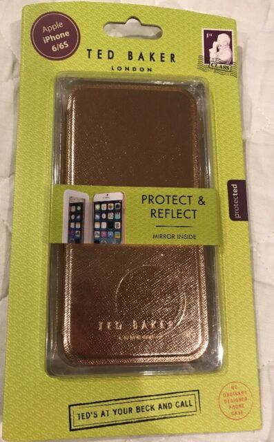 a77ee6fb752 Official Ted Baker London Women's Case for iPhone 6/6s Mirror Shannon Rose  Gold