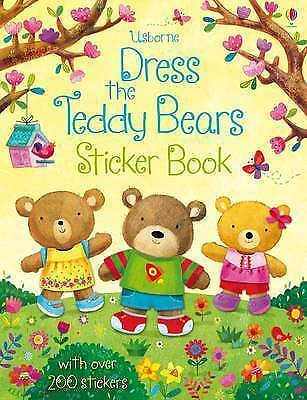 1 of 1 - Dress the Teddy Bears Sticker Book-ExLibrary