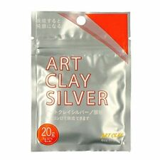 NEW Aida Chemical Industry Silver Clay Art Clay Silver 50g A211 10/% increase