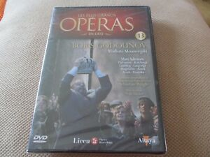 "DVD ""BORIS GODOUNOV - Moussorgski"" Matti SALMINEN / LES PLUS GRANDS OPERAS N°13"