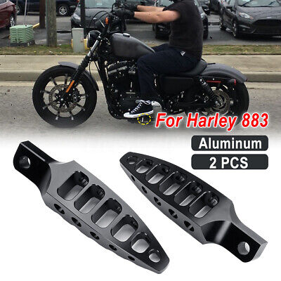 Aluminum Rubber Male Mount Foot Pegs Fit For Harley Sportster Softail Touring