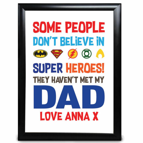 Personalised Gifts Superhero Nan Hero Nanny Nana on Mother/'s Day Birthday