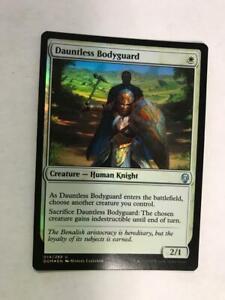 Dauntless Bodyguard English Foil x1 MTG Magic Dominaria Lightly Played