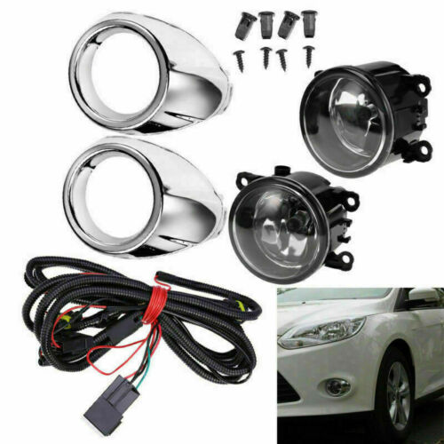 2X For Ford 2012-2014  Focus S SE SEL Bumper Driving Fog Lights H11 Lamp Bulb