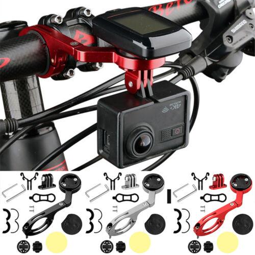 Bike Out Front Mount Bicycle Handlebar For Garmin//Bryton//Cateye GPS Flashlight