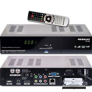 Megasat HD 935 Twin HDTV Sat Receiver Live Stream 1000GB Festplatte intern 1TB