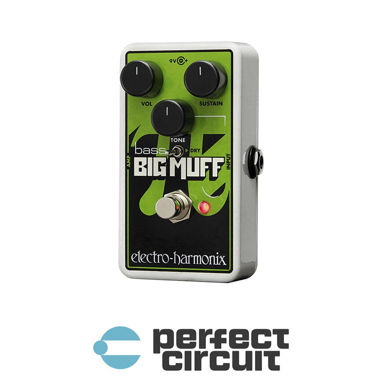 Electro-Harmonix Nano Bass Big Muff Pi Distortion PEDAL NEW - PERFECT CIRCUIT