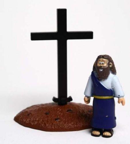 Jésus et Croix-Beginner /'s Bible Action Figure Jouet Pour Enfants Cadeau