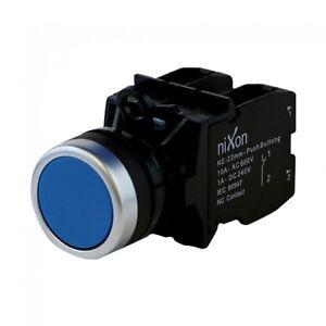 Blue-Push-Button-22mm