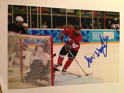 Sports Mem, Cards & Fan Shop Allan Mcshane Signed 4x6 Photo Team Canada Oshawa Generals Montreal Canadiens 2