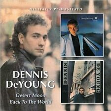 Desert Moon/Back to the World * by Dennis DeYoung (CD, Apr-2013, Beat Goes On)