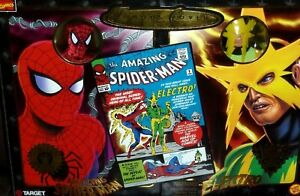 MARVEL FAMOUS COVERS FIGURE SPIDERMAN from 2 pack electro ORIGINS LEGENDS