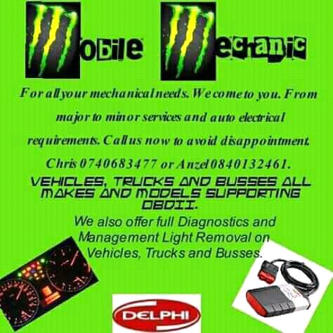 Mobile Auto electrical and Mechanical Services