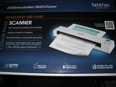 Brother DSmobile DS-920DW Duplex Sheetfed Mobile Scanner