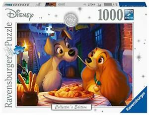 Ravensburger-Jigsaw-Puzzle-LADY-AND-THE-TRAMP-Disney-Dogs-Love-1000-Pieces