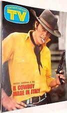 TV Sorrisi e Canzoni n.17/1976 con in copertina Tex Cow-Boy made in Italy