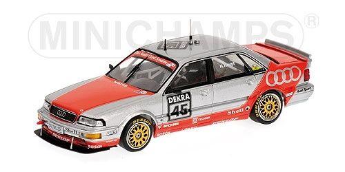 Audi V8 Team Sms Hubert Haupt Dtm 1992 1 43 Model MINICHAMPS