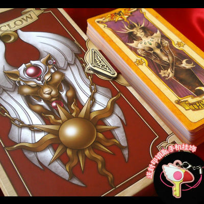 Card Captor Sakura Kinomoto Japanese Anime Clow Cards Gift Cosplay Collectibles
