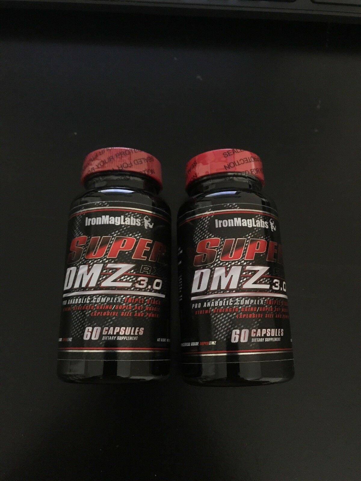 (2) Bottle IronMagLabs Super IML DMZ 3.0 Iron Mag Labs IML Super 56037d
