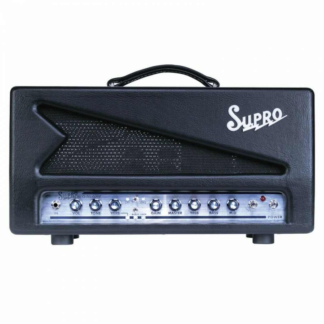 Supro Galaxy Guitar Head Tube Amp 50w