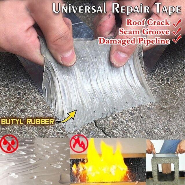 Super Strong Tape Butyl Seal Aluminum Foil Magic Repair Adhesive Tape Waterproof