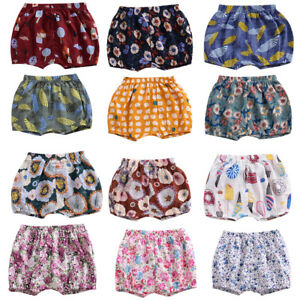 Baby Girls Toddlers Floral Bloomers Shorts Pants Diaper Cover PP Panties Bottoms