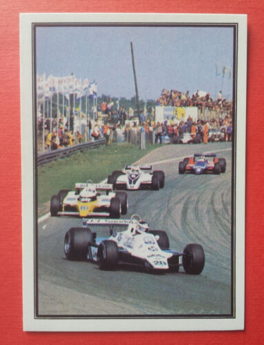 PANINI F.1 GRAND PRIX 1980 MAX choose your stickers 1//144 NEW WITH BACK