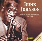 Bunk and the New Orleans Revival 1942-1947 by Bunk Johnson (CD, Jul-2003, 2 Discs, Jasmine Records)