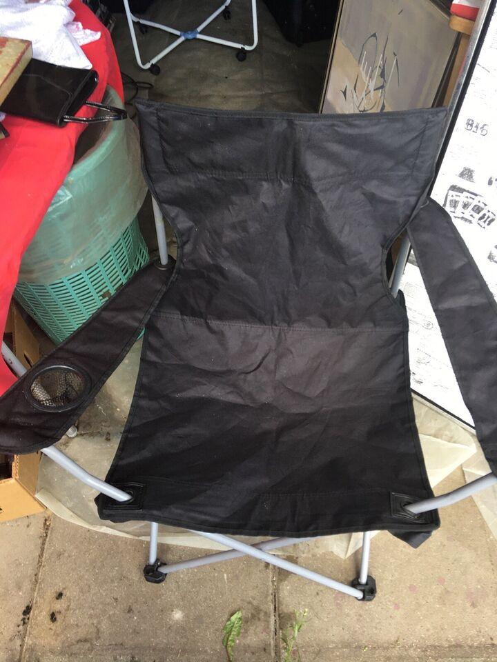 Sammenklappelig stol m kopholder