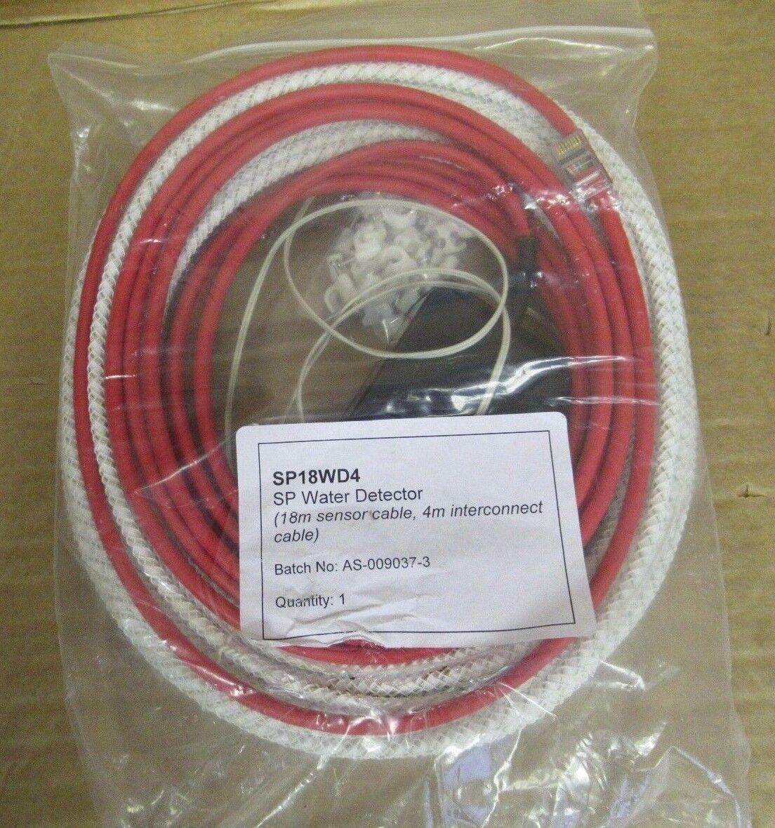 Jacarta SP18WD4 18m Cable de detector de agua con alarma de humo de seguridad de interconexión 4m