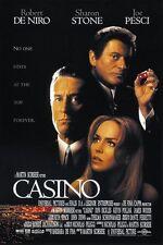 Casino (1995) Robert De Niro mafia movie poster print