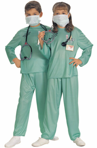 Brand New E.R Doctor Child Costume
